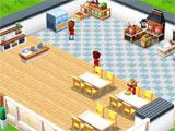 Food Street building up a restaurant