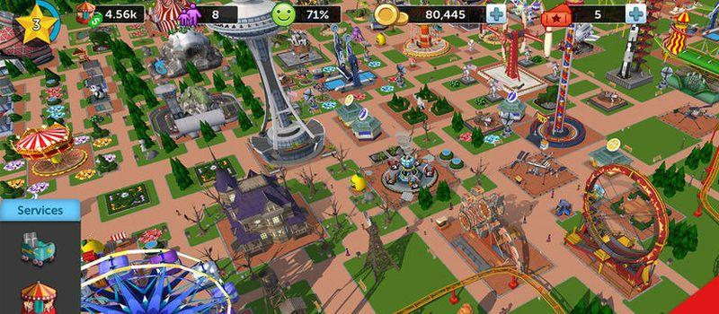 RollerCoaster Tycoon Touch - Virtual Worlds Land!