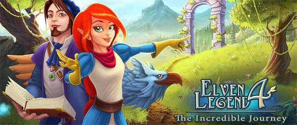 Elven Legend 4: The Incredible Journey - Help Queen Aerin on her quest to rescue another world from potential disaster.