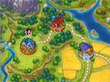 Dakota Farm Adventures world map