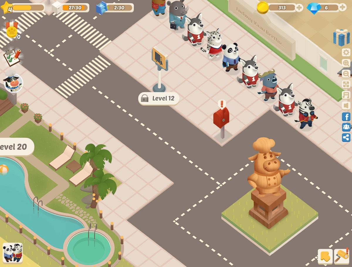 Dining Zoo - Virtual Worlds Land!
