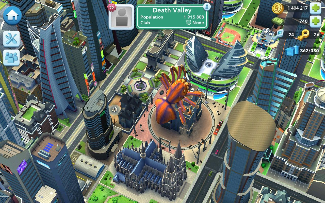 SimCity BuildIt - Virtual Worlds Land!