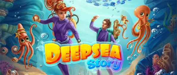 Deepsea Story - Help Johnny and he'll help you return to the world on the surface.