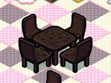 The Sweet Cake Shop Chairs and Table