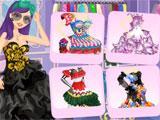 Mini-game in Star Girl