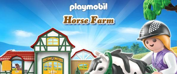 PLAYMOBIL Horse Farm - Build your own horse racing tracks in PLAYMOBIL Horse Farm.