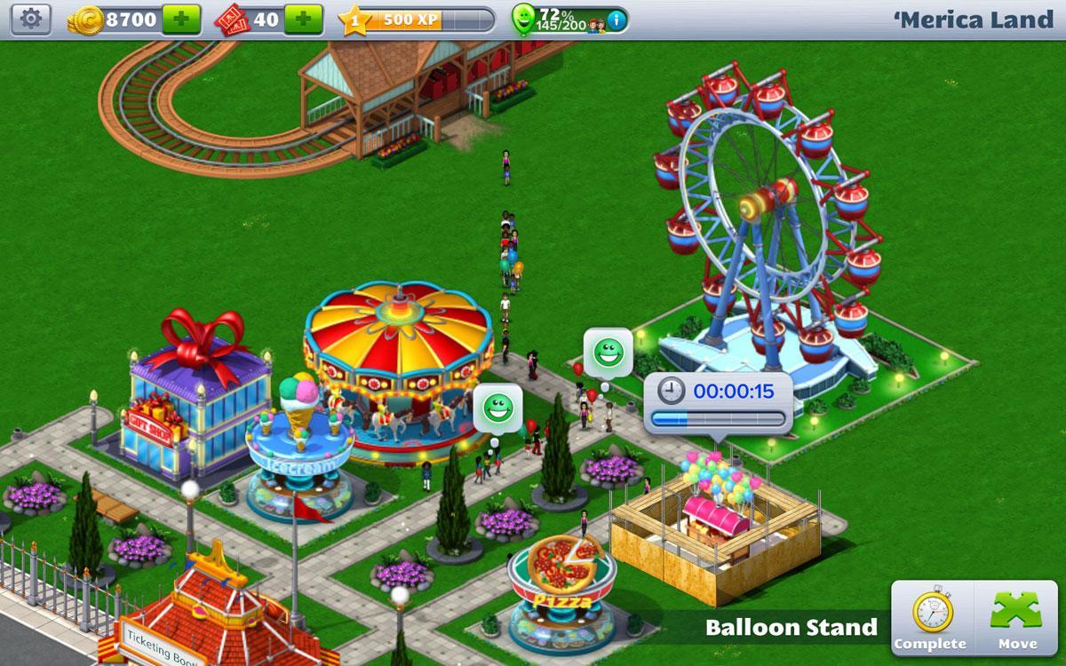 RollerCoaster Tycoon 4 Mobile - Terra dos Mundos Virtuais!