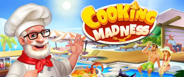 Cooking Madness - Go on a frenzy feeding your loyal customers.