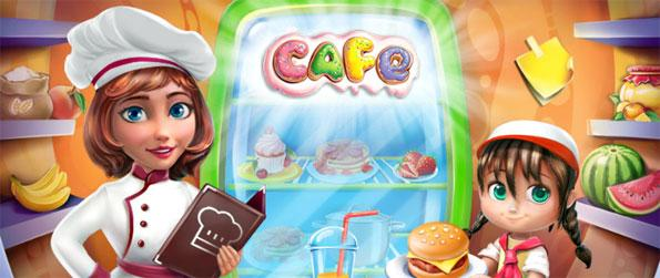 Cafe: Cooking Tale - Keep your customers happy by serving them quickly.