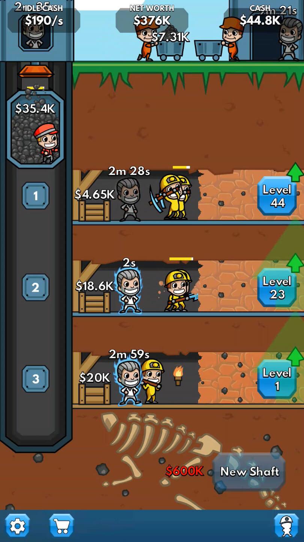 Idle Miner Tycoon Virtuell Worlds Land - Minecraft 2d jetzt spielen