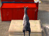 Goat Simulator jumping around