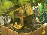 Dismantling the treehouse in Gardenscapes: New Acres