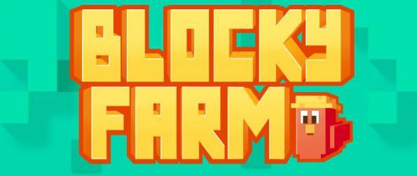 Blocky Farm - Enter the pixelated world in Blocky Farm where you can run a farm and a homestead.