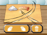 Sushi House: Making The Dish