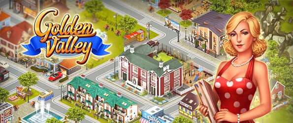 Golden Valley - Build your own majestic city and attract people from all across the world.