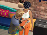 The Sims Mobile: Socializing