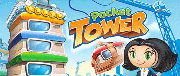 Pocket Tower - Build up your skyscraper floor by floor and fill it with shops and businesses.