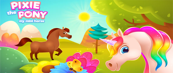 Pixie the Pony - Take care of your very own pony and make all your dreams come true in this engrossing game.