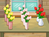 Lots of beautiful flowers to sell in Flower Shop