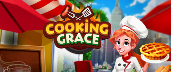 Cooking Grace - Assemble dishes and customize them with various sides, save enough money and open more restaurants in Cooking Grace!