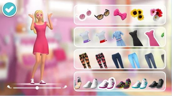 Barbie Dreamhouse Adventures Virtual Worlds Land - roblox barbie and the dreamhouse game