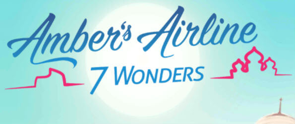 Amber's Airline - 7 Wonders - Pack your bags and get ready to travel around the world to visit the 7 New Wonders of the world!