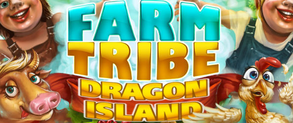 Farm Tribe – Dragon Island - Build and furnish your own unique farm the way you want and rear all kinds of animals!