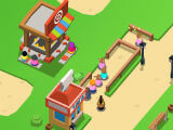 Shooting Gallery in Idle Theme Park Tycoon