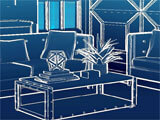 Property Brothers Home Design blueprint mode