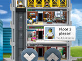 Working the Lift in Lego Tower