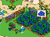 Smurfs' Village building up the forest village