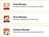 Super Hotel Tycoon hiring management