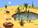 Relaxing idle gameplay in My Oasis