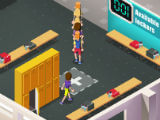 Customers using Lockers in Idle Fitness Gym Tycoon
