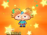 Nickelodeon Pixel Town - Arnold