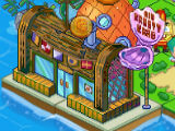 The Krusty Krab in Nickelodeon Pixel Town