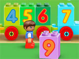 Lego Duplo World sorting numbers