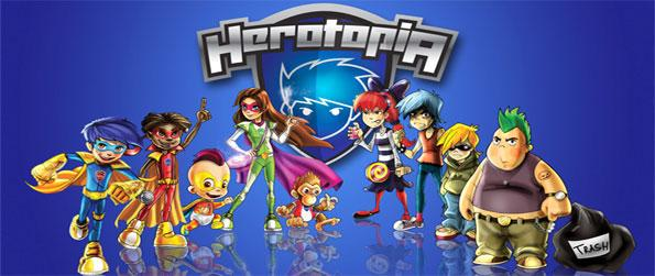 Herotopia - Save the cute Smighties as you take on the Bully Boys in this free superhero themed virtual world.