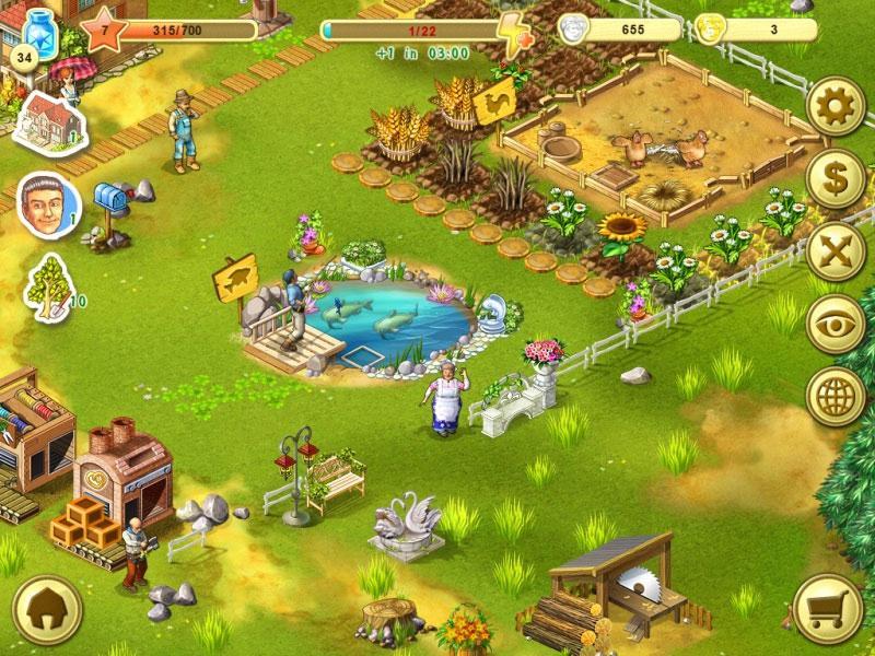 Farm up virtual worlds land for Fish farm games