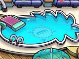 Rooftop in Club Penguin