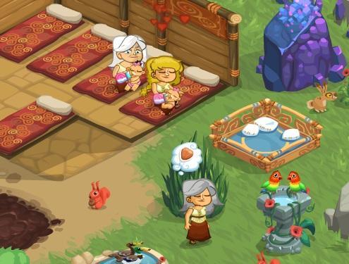 Village Life - Virtual Worlds Land!