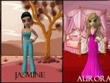 Cool disney princess in Meez