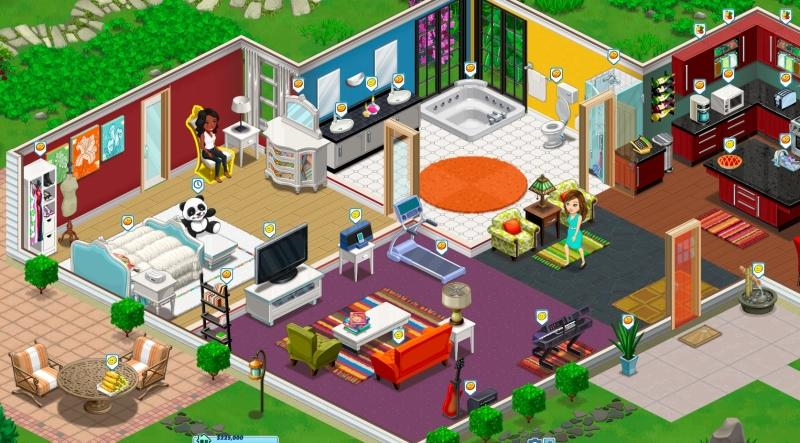 The ville virtual worlds land for Virtual house building games online