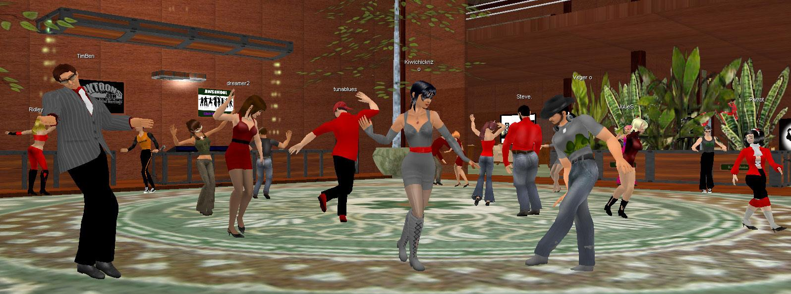 Active Worlds Park Party in Active Worlds ...