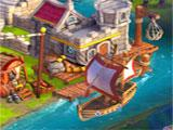 Sea Trading Post in Castleville Legends