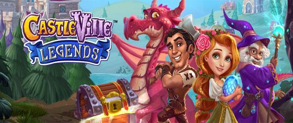 Castleville Legends - Rebuild your amazing castle in a magical land full of heroes and princesses.