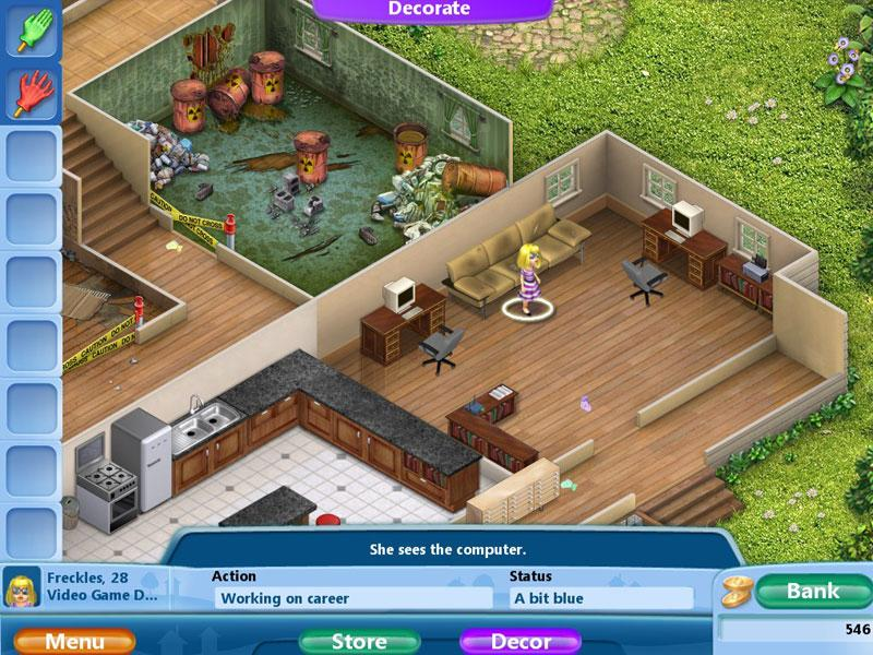 Virtual Families 2 , Virtual Worlds Land!