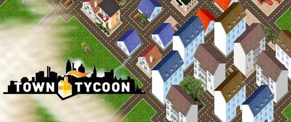 Town Tycoon - Build the biggest metropolis you can full of houses and fun activities.