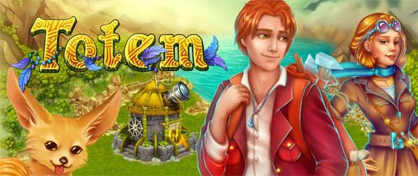 Totem Story Farm - Help a team of archaeologists that have been sent back in time to rebuild their future.