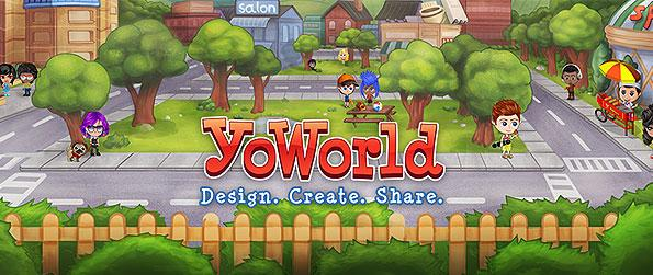YoWorld - Dress up, host a party, chat, play games, send messages or gifts, shop, and earn coins from jobs in this wonderful 2D virtual hangout place.